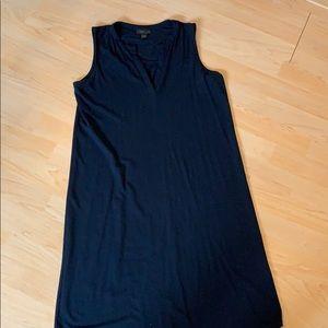 J.Jill Wearever navy blue shift dress